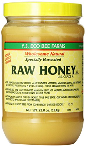 (Y.S. Eco Bee Farms Raw Honey - 22 oz (4 Pack) )
