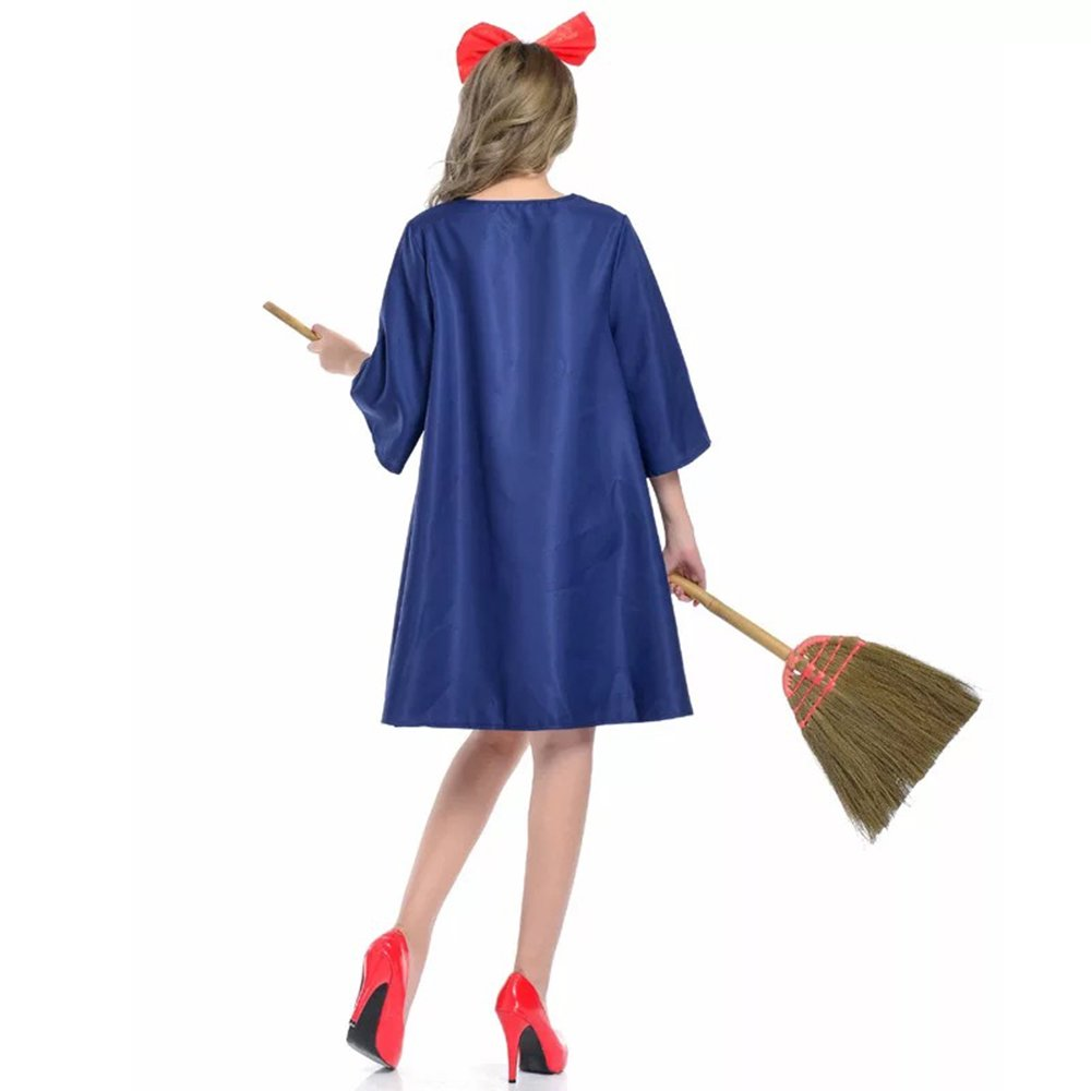 Amazon.com: Anime Cosplay Vestido de bruja niña Halloween ...