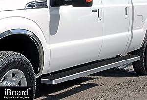 iboard running boards 5 custom fit 1999 2016 ford f250 f350 super duty crew cab. Black Bedroom Furniture Sets. Home Design Ideas