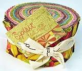 "Moda HAPPY Jelly Roll 2.5"" Fabric Strips"