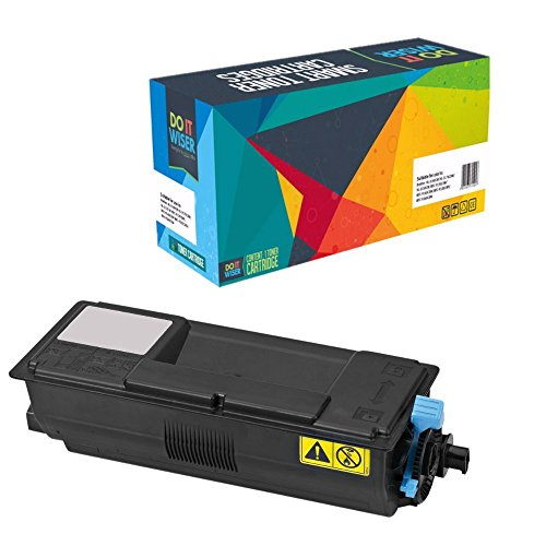 Do it Wiser ® Compatible Black Toner for KYOCERA MITA ECOSYS FS-2100D FS2100DN M3040idn 3540idn -TK-3102 - Yield 12,500 Pages