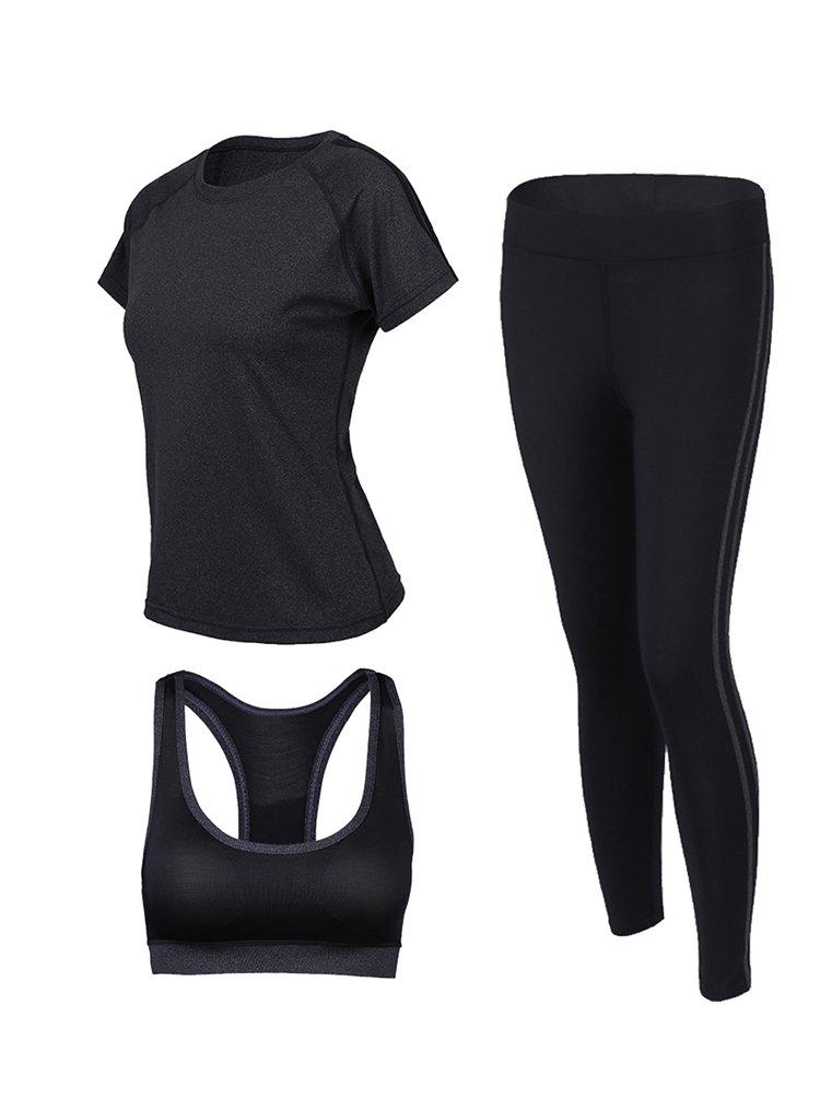 Cosstars Mujeres 3 Piezas Conjuntos Sportswear Disfraces de ...