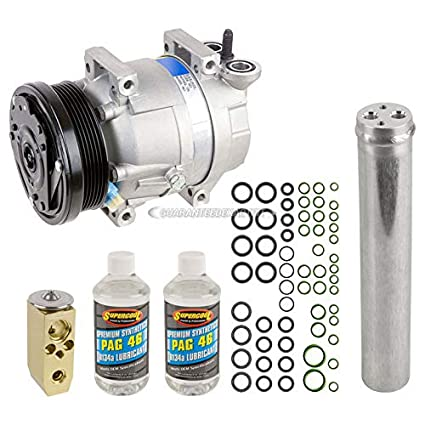 Amazon.com: AC Compressor w/A/C Repair Kit For Chevy Aveo & Aveo5 - BuyAutoParts 60-81236RK NEW: Automotive