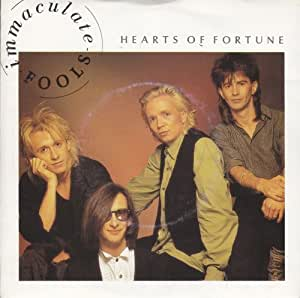 "Immaculate Fools - Hearts Of Fortune - [7""]"