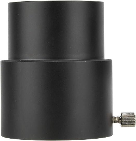Bilinli Tubo de extensi/ón del Ocular del telescopio 2 Pulgadas 40 mm Adaptador de Rosca M48 Negro