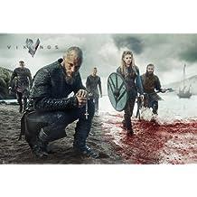 "Vikings Poster Blood Landscape (36""x24"")"