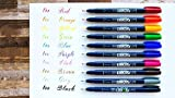 Tombow Fudenosuke Colors Set 10-Pack, WS-BH10C
