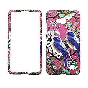 2D Blue Bird For Nokia Lumia 640 Case Cover Hard Phone Case Snap on Shield Protector Rubberized Touch Faceplate Cover
