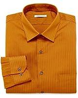 Van Heusen Men's Wrinkle Free Lux Satin Stripe Dress Shirt