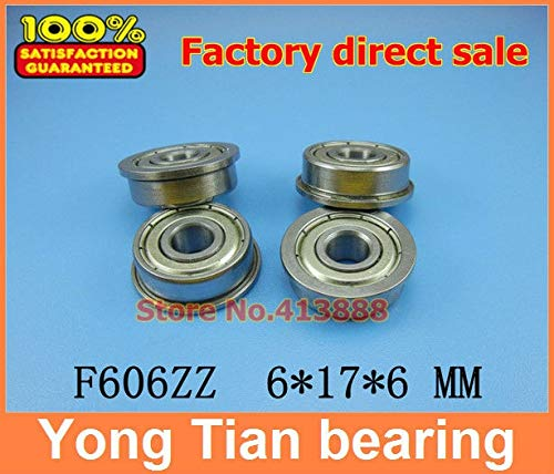 Ochoos 10pcs Stainless Steel Ball Bearing SF606ZZ SF606 SF606ZZ DDLF-1760ZZ 6171961.2mm - (Length: SF606ZZ, Diameter: ABEC-3) ()