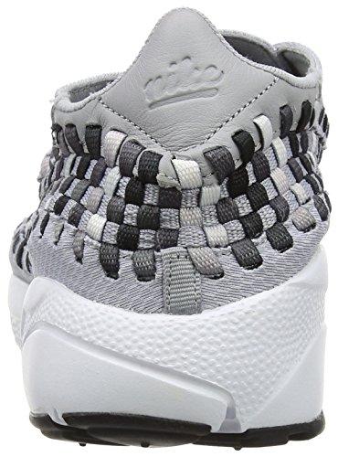 Nike Herren Air Footscape Woven NM Gymnastikschuhe Grau (Wolf Grey/black Dark/grey/white)