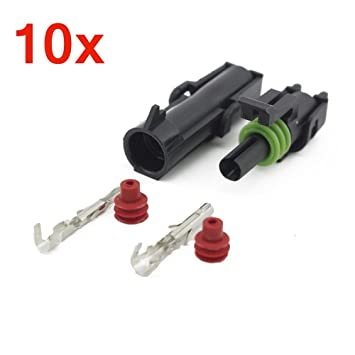 e ting 10 sets 20 14 awg waterproof connector electrical wiring rh amazon ca
