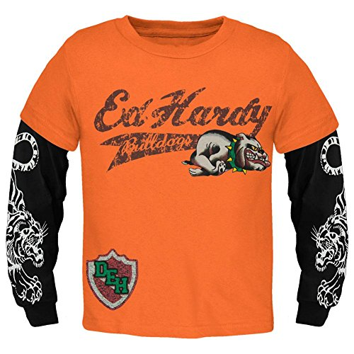 (Ed Hardy - Running Bulldogs Youth 2fer - Youth Small)