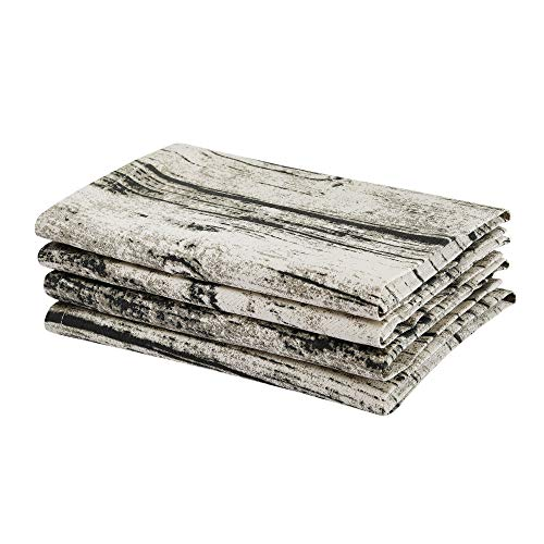 (Rustic Wood Pattern Printed Napkin of Size 18