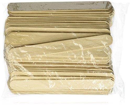 Rayson Large Wide Wood Wax Spatula Applicator 6