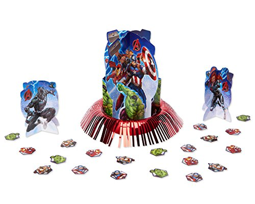 American Greetings Marvel Epic Avengers Table Decorating Kit -