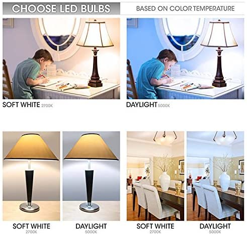 Soft White LED G25 Globe Light Bulb ENERGY STAR Certfied TCP 60W Equivalent Dimmable