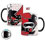 Morphing Mugs DC Comics Justice League (Chibi Harley Quinn) Heat...