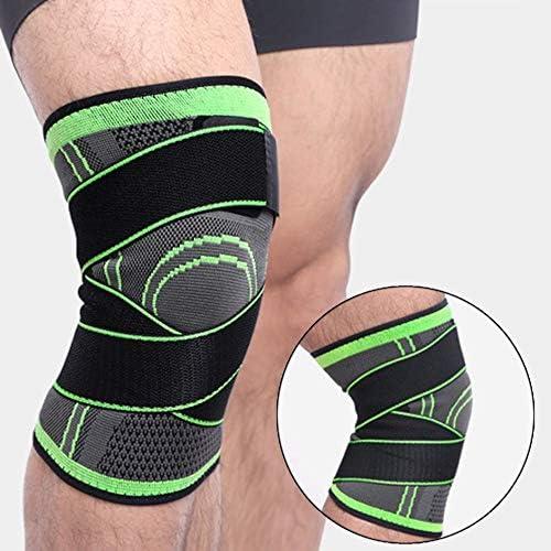 Matthew00Felix Pressurized Fitness Bandage Knee Support Brace Sports Compression Pad Sleeve