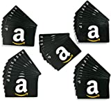 Amazon.com $5 Gift Cards, Pack of 50 (Classic Black Card Design)