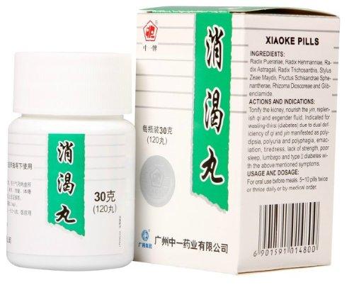 Thé de Kungfu Xiao Ke Wan / Xiao Ke, Pills releveur Assoiffé de daibetes, expédition libre