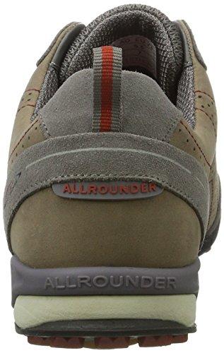 Allrounder by Mephisto Tajalo, Zapatillas de Deporte Exterior para Hombre Grau (Down Ash)