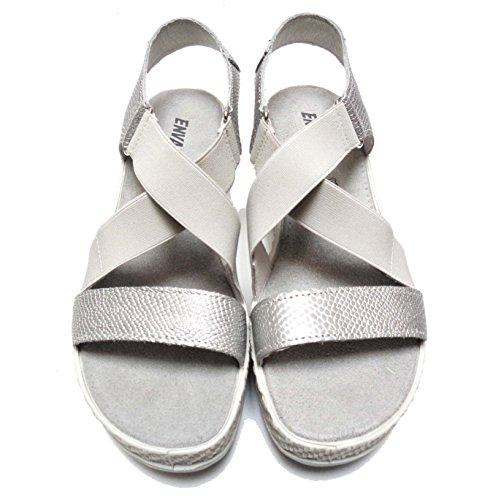 ENVAL SOFT - Sandalias de vestir de Piel para mujer plateado plateado 38