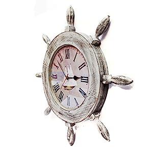 51WuUCwbC4L._SS300_ Coastal Wall Clocks & Beach Wall Clocks