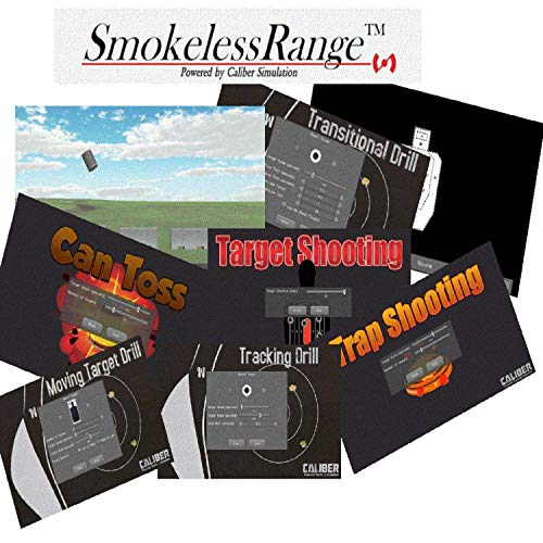 SMOKELESS RANGE 2.0 JUDGEMENTAL AND MARKSMANSHIP SHOOTING SIMULATOR - Train anytime day or night with your very own laser based training simulator in the comfort of your own home