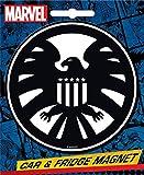 Ata-Boy Marvel Comics Die-Cut S.H.I.E.L.D. Insignia Magnet for Cars, Refrigerators and Lockers