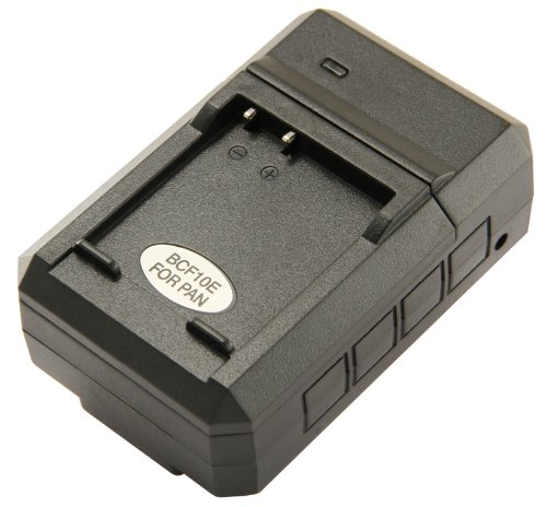 STKs Panasonic DMW-BCF10PP Battery Charger - for Panasonic DMW-BCF19PP, DMW-BCF10 Batteries, and Lumix DMC-TS4, DM-TS3, DMC-FH20, DMC-TS2, DMC-FS15, DMC-TS1, DMC-FT3, DMC-FH22, DMC-FS7, DMC-FT4, DMC-