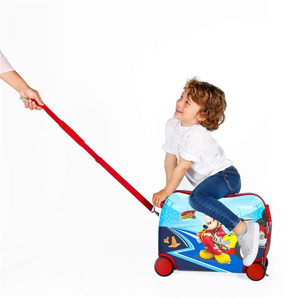 40 cm Disney Lets Roll Mickey Bolsa de viaje Multicolor 24.64 litros