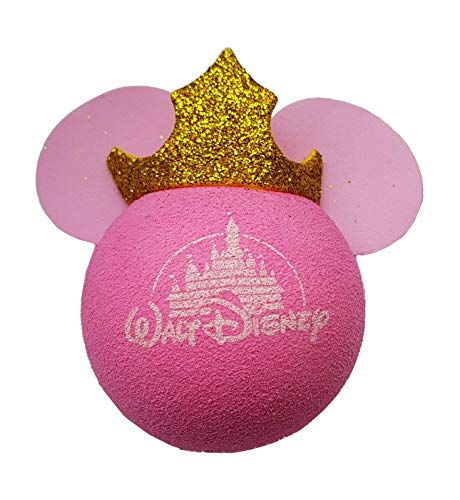 Access All Areas Princess Minnie Mouse Pink Aerial Ball Topper Car Locator Finder Mother's Day Girl Birthday Gift (Antenna Topper Glitter)