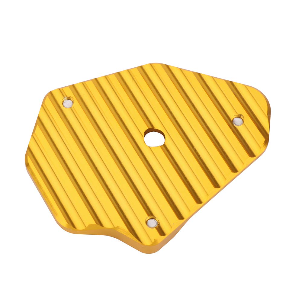 Extension de plaque dextension de support de b/équille lat/érale de moto pour DUCATI 848 1098 1198 toutes ann/ées Noir