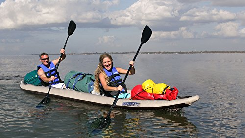 465FTK D2 Sea Eagle 465 FastTrack Inflatable Kayak Deluxe 2 Person Package By SeaEagle