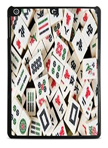Mah Jong Tiles Mahjong Black iPad Air Hardshell Case