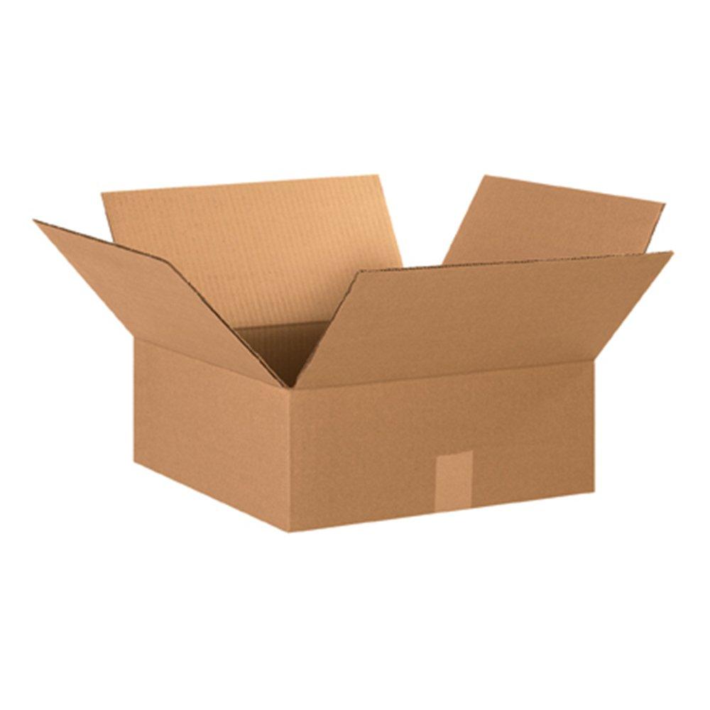 Aviditi 15156 Flat Corrugated Cardboard Box 15