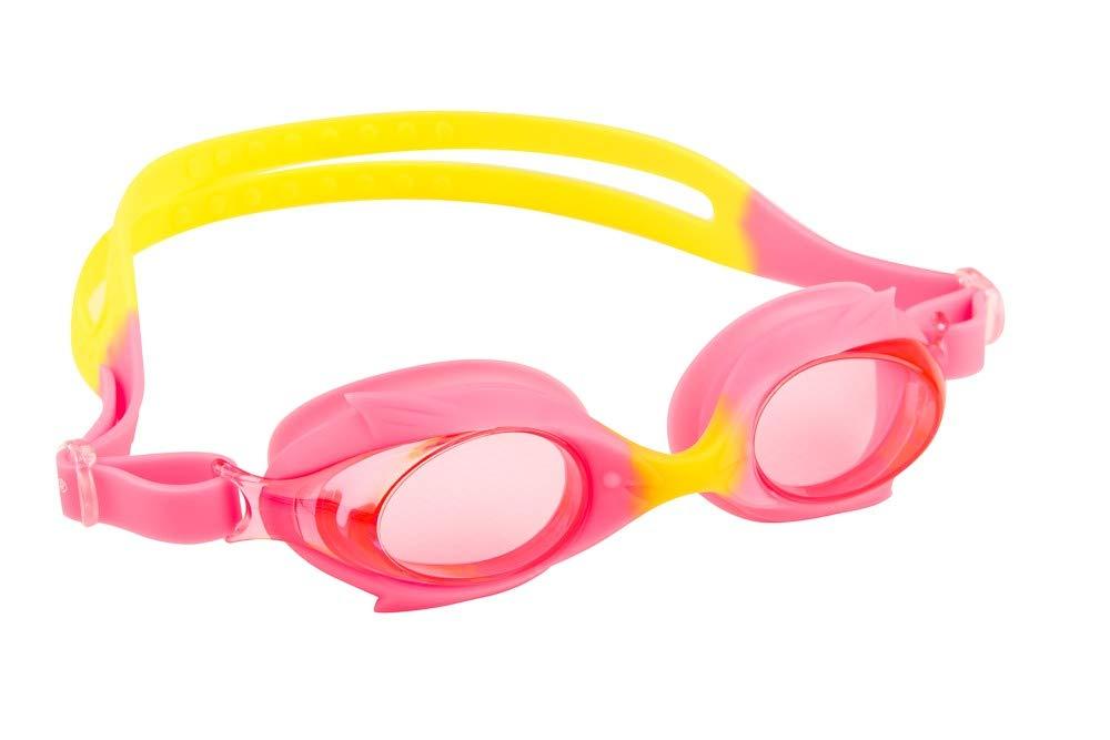 Maru AG5618 Gafas de natación, Rosa y Amarillo, Talla única Talla única