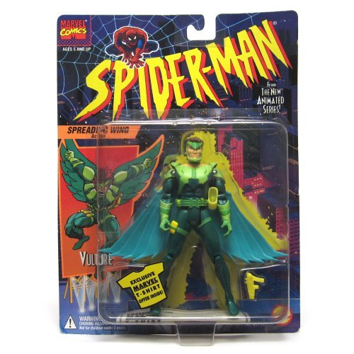 Vulture  Spreading Wings Aktion  1994 Spider-Man The New Strampelanzug/Schlafanzug/Series Aktion steht by Spider-Man
