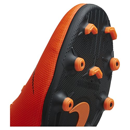 Club Total 810 Orange Unisex de 12 Multicolor Black Zapatillas t NIKE Deporte Adulto Vapor MG 6qUxFER