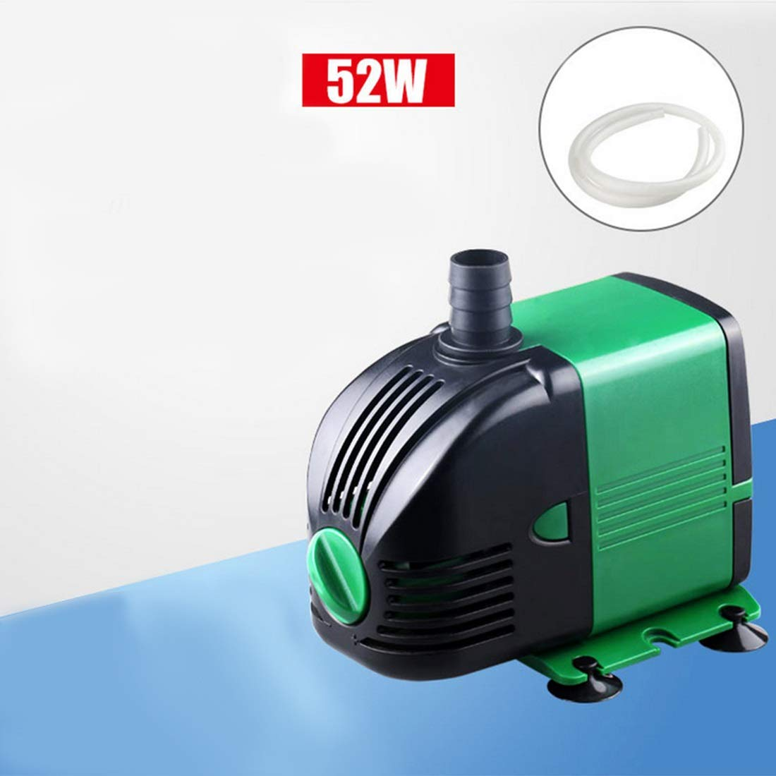 52W FELICIPP Subversible Pump 600L480L /Hr, Fountain Water Pump for Fish Tank, Hydroponics, Aquarium (Wattage: 14W)