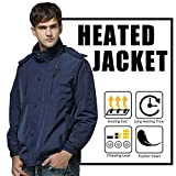 Autocastle Men's Electric Battery Heated Jacket