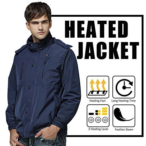 Autocastle Men's Electric Battery Heated Jacket by Autocastle