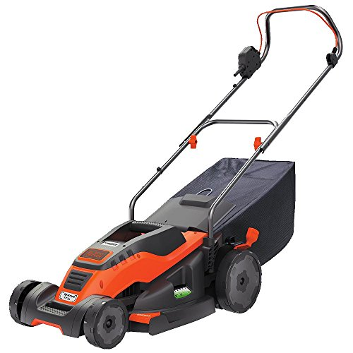 BLACK+DECKER EM1700 17-Inch Corded Mower with Edge Max, 12-Amp