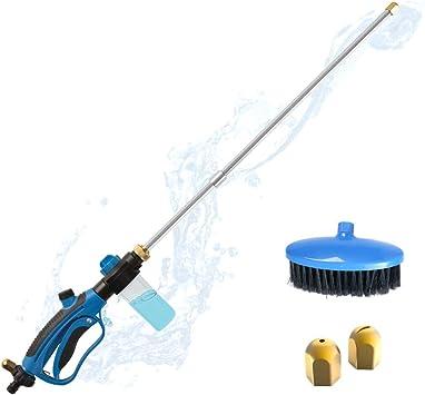 High Pressure Spray Gun Washer Power Water Nozzle Wand Garden Hose Attachment