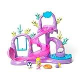 Jungle In My Pocket Best Deals - Splashlings Coral Playground - Includes Play Set, 1 Mermaid, 2 Splashling Figurines