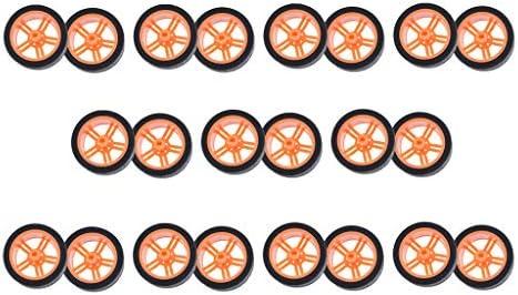 RCモデルカー タイヤ ホイール スマートカー ロボット TTモーター スマートカー用 約22個入り