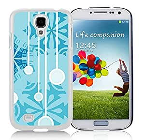 Personalize offerings Samsung S4 TPU Protective Skin Cover Christmas Snowflake White Samsung Galaxy S4 i9500 Case 15