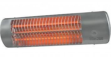 Euromac - Estufa eléctrica para baño