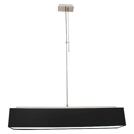 Massive Lámpara de techo lámpara de techo negro 4 Adrio con ...